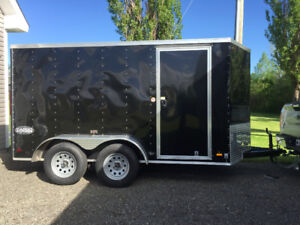 6x12. Enclosed trailer  2016   For sale