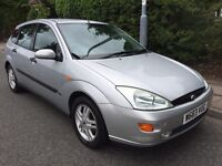 FORD FOCUS ZETEC 12 MONTHS MOT STARTS AND DRIVES PERFECT