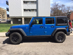 2016 Jeep Wrangler Willys Wheeler - Barely Used