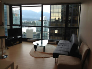 Fully Furnished 1 Bedroom in Coal Harbour