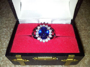 "Beautiful ""London Blue"" Ring $725.00 value London Ontario image 1"