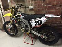 Rmz 450 2015 motocross bike not Sxf Crf yzf Kxf 250