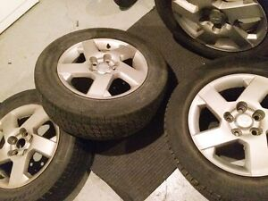 16 inch Mitsubishi rims and tires West Island Greater Montréal image 1