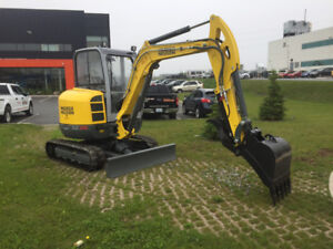 EXCAVATOR - Wacker Neuson 4 TON MINI For Sale