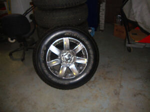 brand new rims and tires Windsor Region Ontario image 1