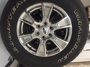 2015 Ford F150 tires and rims