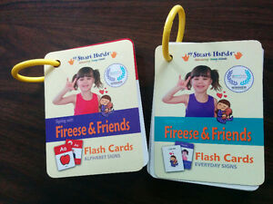 Smart Hands Flash Cards Alphabet/Everyday Signs - like NEW!