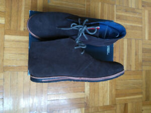 New Ben Sherman Mens Suede Boots Size 8