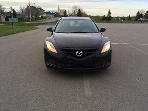 2010 Mazda Mazda6 black Sedan