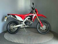 Honda CRF 450 L 2019 with only 288 miles + Power Up Kit