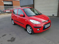2008 HYUNDAI i10 1.1 STYLE ONLY 44,800 MILES WARRANTED