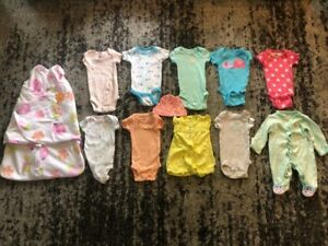 newborn girl size clothing