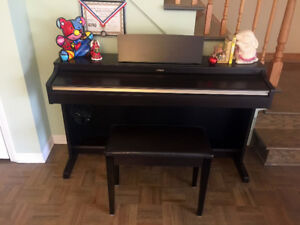 Yamaha Electric Digital Piano ARIUS YDP162 with bench, Rosewood