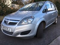 Vauxhall Zafira 1.6 diesel 2012 - ONLY 21k miles!!!