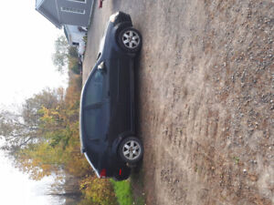 2004 Chevrolet Optra safetied with winter tires