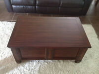 Storage Coffee table & End tables Set