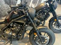 NEW Honda CMX 500 Rebel S Special Edition 2020 - A2 Licence Motorcycle