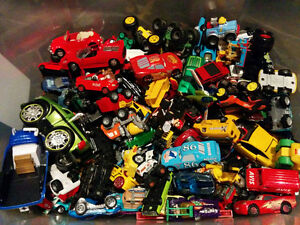 Toy cars, Hot wheels, Disney cars, big foot/ Voitures Hot Wheels