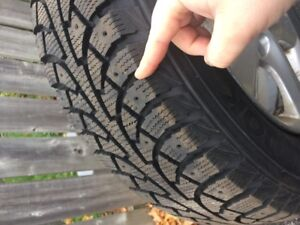 Winter Tires on Alloy Rims