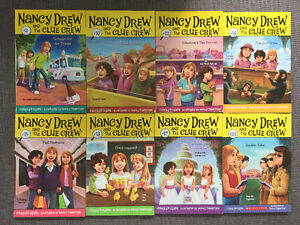 Nancy Drew Early Readers select books from the Series