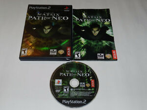 Matrix-Path of Neo-Playstation 2/PS2-Very good condition