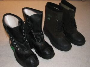 NEW all weather safety work boots -  Kamik size 7, Acton size 8