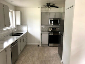 Legal Duplex: Main floor newly renovated 3 bedroom home