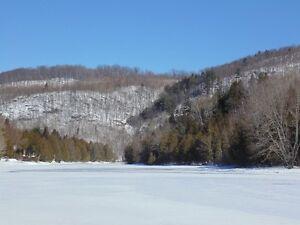 Magnifiques terrains aux abords de la Rivière Petite-Nation.