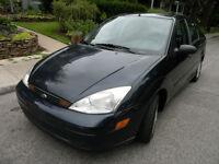 2001 Ford Focus Sedan , Low Mailage !