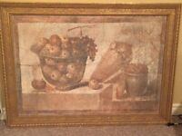 Fresco Reproduction - Vessel with Fruit