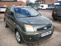 Ford Fusion 1.4 TURBO DIESEL TDCi Zetec Climate
