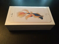 Iphone 6S plus 16GB,GOLD sealed ,rogers/chtter