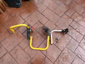 Rhino roof bar clamps