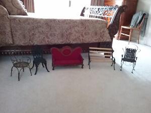 Teddy Bear Chairs & Sofa PLUS Wooden Rocker- REDUCED!!!