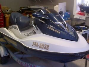 2005 SeaDoo GTX with only 100 hours