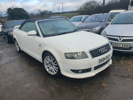 Audi a4 convertible 3.0 v6 auto 90k miles red leather mot till May