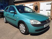 Absolutely immaculate 2003 Vauxhall Corsa 1.4cc
