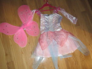 Costume - Fairy with Wings - fits approx 6 year old