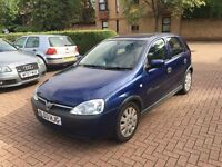 VAUXHALL CORSA 2003 1.0 5 DOOR DRIVES LOVELY LONG MOT