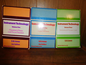 INDUSTRIAL INSTRUMENTATION TEXTBOOKS West Island Greater Montréal image 1