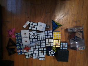 Rubik's cube/speed cube collection