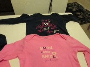 Five coloured onesies/body suits (18-24M) Kitchener / Waterloo Kitchener Area image 2
