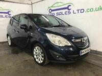 2013 Vauxhall Meriva 1.7 CDTi 16v SE 5dr (a/c)