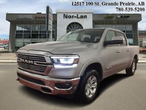 2019 Ram 1500 Laramie  - HEMI V8 - Leather Seats - $166.88 /Wk