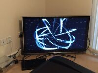 "Samsung 40"" 3D TV and Samsung 3D blu Ray player"