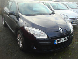 Renault Megane 1.5dCi ( 86bhp ) New Expression GUARANTEED CAR FINANCE