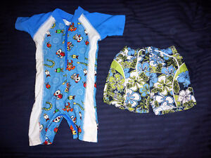 Baby Boy Summer Clothes - size 12 months - 8 items