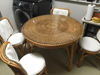 Dining table set Bamboo