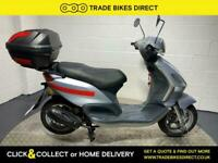 Piaggio Fly 100 2008 SPARES OR REPAIR LIGHT PROJECT SCOOTER GOOD CONDITION 100CC