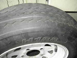 "4.80 - 12"" 5 BOLT TRAILER TIRES & RIMS"